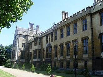 Lambeth Palace - The 19th-century range