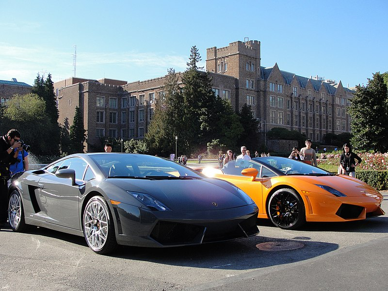 File:Lamborghini on display at UW (4048084174).jpg