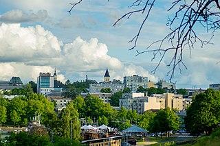 Lappeenranta City in South Karelia, Finland