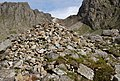 Large Cairn by the path down from Scafell Pike - geograph.org.uk - 1331379.jpg