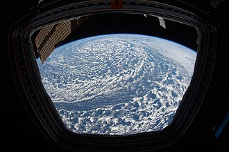 Cyclogenesis - Image: Large Low Pressure System Northeastern Pacific