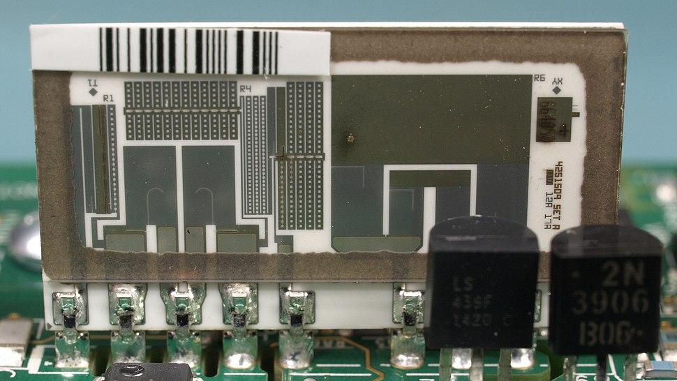 Laser Trimmed Precision Thin Film Resistor Network