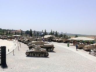 Yad La-Shiryon - Latrun tanks
