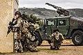 Latvian Soldiers, San Gregorio, Spain, NATO Trident Juncture 15 (22523462580).jpg