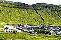 Lava Flows at Færøerne on Eysturoy in Faroe Islands.jpg