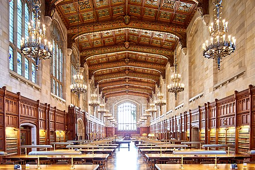 Law library at Umich