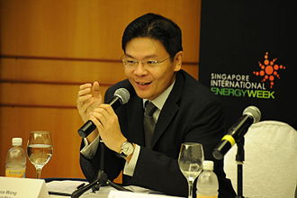 Lawrence Wong - Lawrence Wong at the Singapore International Energy Week in 2010