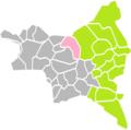 Le Blanc-Mesnil (Seine-Saint-Denis) dans son Arrondissement.png