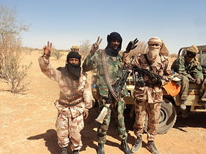 Tuareg rebellion (2012) - Tuareg rebels in 2012