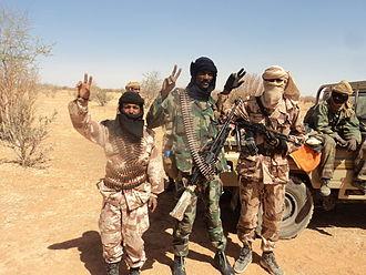 Tuareg rebellion (2012) - Tuareg rebels in 2012