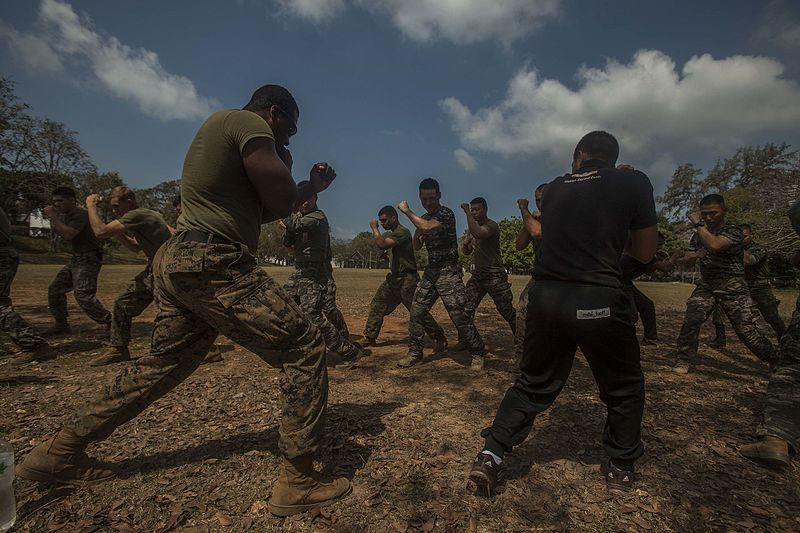 File:Learning Muay Thai with Royal Thai Marines 160213-M