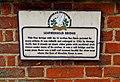 Leatherhead or Town Bridge (2) - plaque - geograph.org.uk - 2120604.jpg