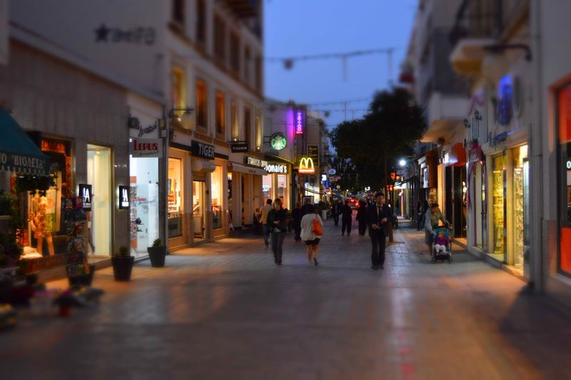 File:Ledra Street just after sunset Nicosia Republic of Cyprus.jpg