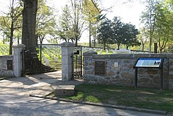 Lee Street entrance to Danville National Cemetery.jpg