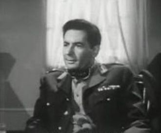 Leo Genn - Genn in The Miniver Story (1950)