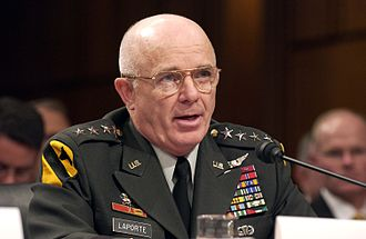 Leon J. LaPorte - LaPorte before the Senate Armed Services Committee on September 23, 2004