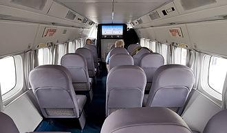 Let L-410 Turbolet - Commuter cabin