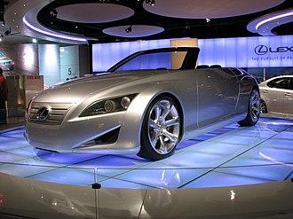 Lexus LF - Lexus LF-C concept at the 2007 Canadian International AutoShow.