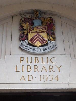 Municipal Borough of Leyton - Image: Leytonstone Library 3