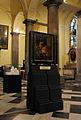 Liège, Collégiale St-Denis, peinture L Lombard 1.JPG