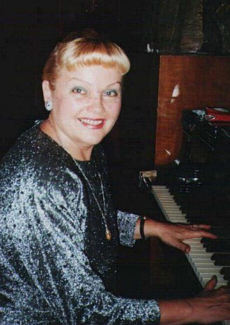 "Liana Alexandra - Composer Liana Alexandra playing piano, concert at ""International New Music Week"" Festival, Bucharest, ""George Enescu"" Museum, 2002"