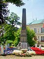 Liancourt (60), monument aux morts, devant la mairie, rue Jules-Michelet 02.jpg