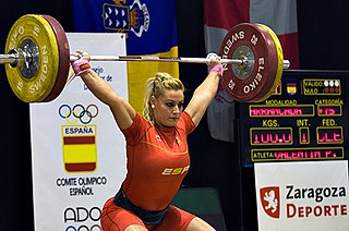 Lidia Valentín Spanish weightlifter