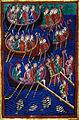 Life of St. Edmund, Barbarians Invading England, c 1130.JPG