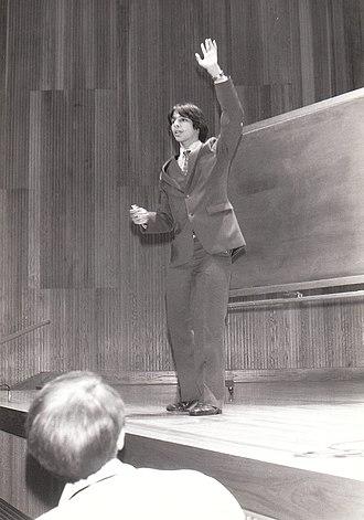 Arthur T. Benjamin - Arthur Benjamin performs at the 1983 CSICOP Conference in Buffalo, NY.