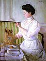 Lilla Cabot Perry - Lady at the Tea Table.jpg