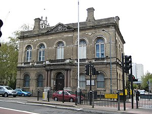 Metropolitan Borough of Stepney - Image: Limehouse Town Hall geograph.org.uk 788445