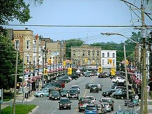Lindsay, Ontario - Downtown Lindsay
