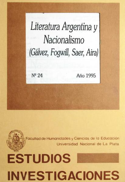 File:Literatura argentina y nacionalismo. Gálvez, Fogwill, Saer, Aira.djvu