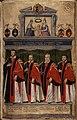 Livre IV des annales (1587-1601). Les capitouls de l'année 1600-1601 et Mariage du roi Henri IV et de Marie de Médicis par Charles Galery.jpg