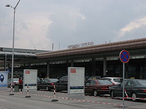 Ljubljana Jože Pučnik Airport - Passenger terminal