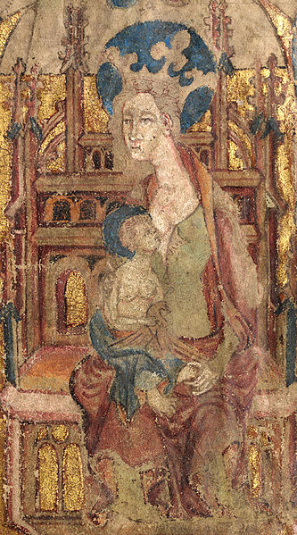 Llanbeblig Hours - Madonna and Child