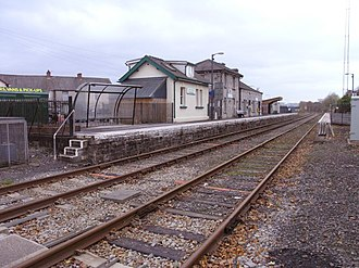 Llandovery railway station - Image: Llandovery Railway Station