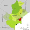 Localització de Sant Joan d'Alacant respecte l'Alacantí.png