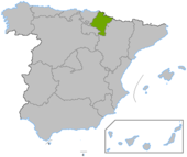 Navarra en España
