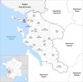 Locator map of Kanton La Rochelle-1 2019.png