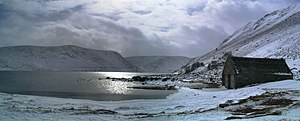 Aberdeenshire (historic) - Loch Muick in winter