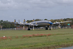 Lockheed Constellation L-1649A Starliner N974R Lufthansa RFront FOF 05March2011 (14403899520).jpg