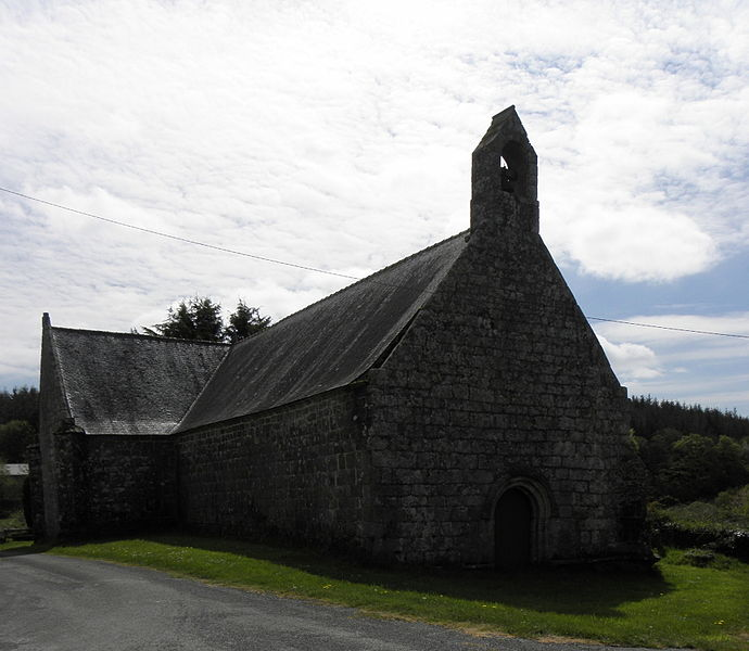 Chapelle  Notre-Dame-de-Grâce de Kerlenat, commune de Locmalo (56).