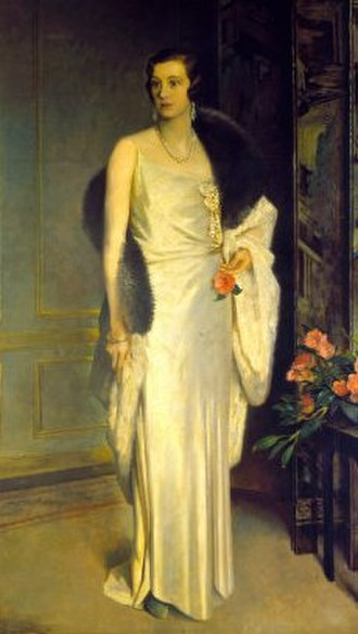 Loelia Lindsay - The Duchess of Westminster, by Glyn Philpot