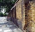 London, Woolwich Dockyard, old factory walls opposite Morris Walk Estate 4.jpg