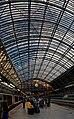 London - St Pancras International Rail - Single Roof Span 1868 by William Henry Barlow & Rowland Mason Ordish - ICE Photocompilation Viewing SSE & Up.jpg