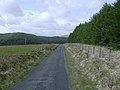 Lonely road on the way back from Ty'ncornel youth hostel - geograph.org.uk - 465951.jpg