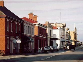 Longford, Tasmania - Wellington Street, Longford looking south