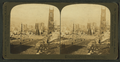 Looking down California St. Ferry building in distance, San Francisco Disaster, U.S.A, from Robert N. Dennis collection of stereoscopic views.png