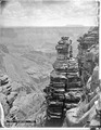Looking into Marble Canyon of the Colorado River, Arizona. Shinimo Alter in the distance. Coconino - NARA - 517740.tif